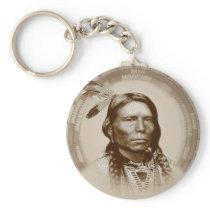 Crazy Horse Keychain