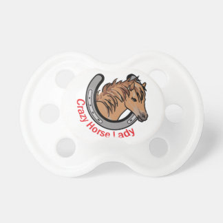 Crazy Horse Lady Pacifier