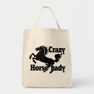 Crazy Horse Lady Tote Bag