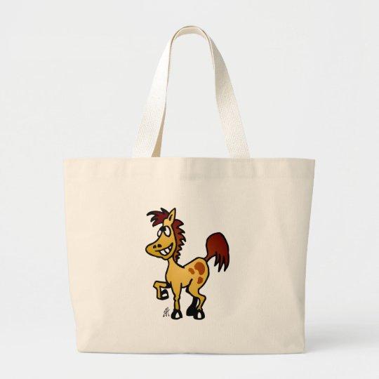 Crazy Horse Large Tote Bag