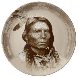 Crazy Horse Porcelain Plate