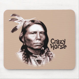 Crazy Horse Mouse Pad