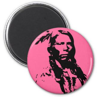 Crazy Horse Native American Fridge Magnet