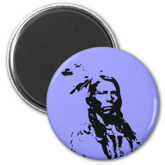 Crazy Horse Native American Magnet