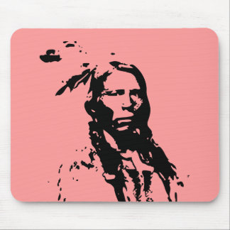 Crazy Horse Native American Mouse Pad