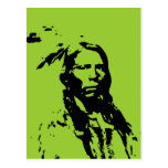 Crazy Horse Native American Post Card