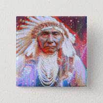 Crazy Horse Pinback Button