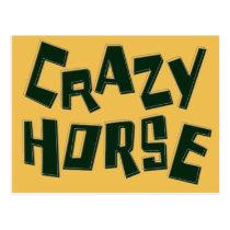 crazy horse postcard