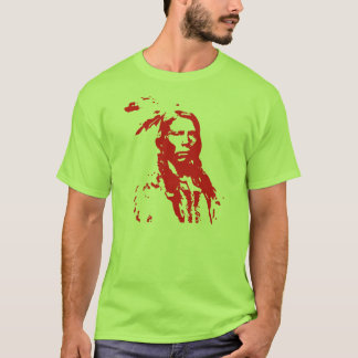 Crazy horse (red) T-Shirt