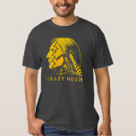 Crazy Horse War Paint Tee Shirt