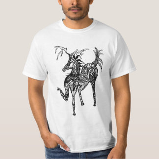 Crazy Horse White T-Shirt