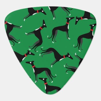 Crazy Hounds Guitar Pick by ClaudianeLabelle at Zazzle