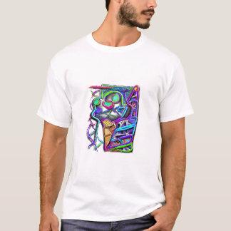 crazy ice cream cone 1 T-Shirt