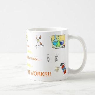 Crazy idea coffee mugs