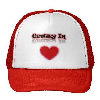 Crazy In Love Reflection Heart Hat