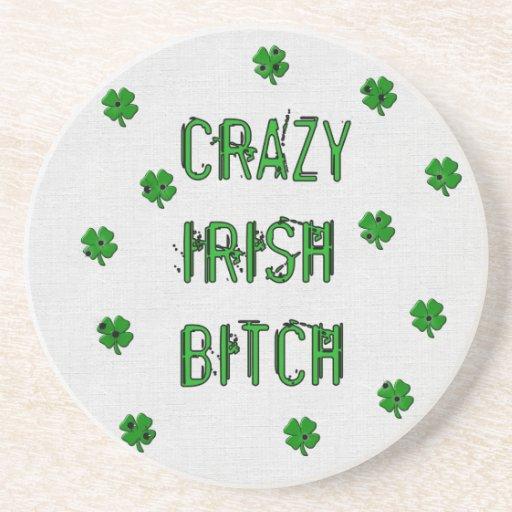Crazy Irish B***** Drink Coasters