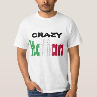 Crazy Italian Tee Shirt