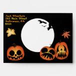 'Crazy Jacks' Halloween Envelope