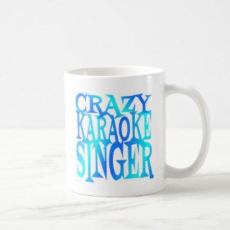 Crazy Karaoke Singer Coffee Mug