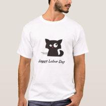 Crazy Kat Labor Day T-Shirt