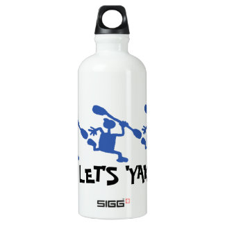 Crazy Kayak Let's Yak Water Bottle