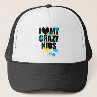 Crazy kids trucker hat