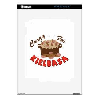 Crazy Kielbasa iPad 2 Decal