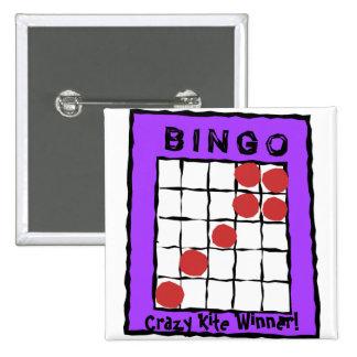 Crazy Kite Winner! bingo button
