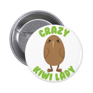 crazy kiwi lady circle button