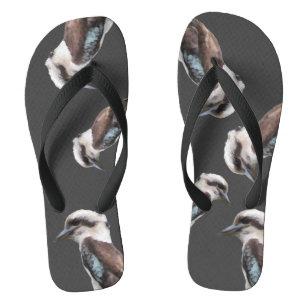 9a656d1f9a6 Crazy Kookaburra Flip Flops