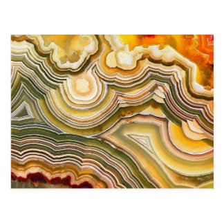 Crazy Lace Agate Fantasy Opus 02 Postcard