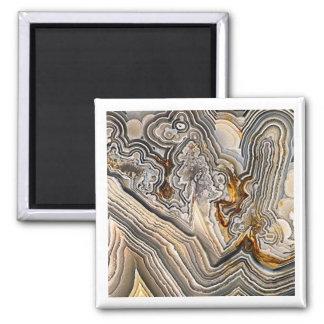 Crazy Lace Agate Magnet