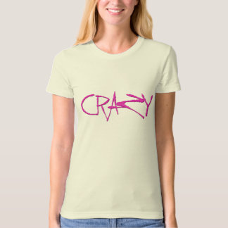Crazy Ladies Organic T-Shirt (Fitted)