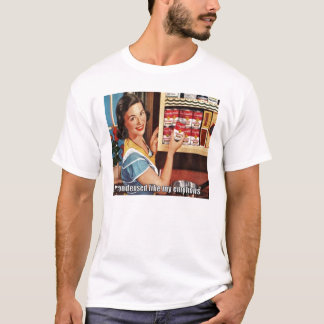 Crazy Lady: Condensed Emotions T-Shirt