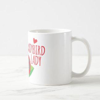 Crazy Ladybird Lady Coffee Mug