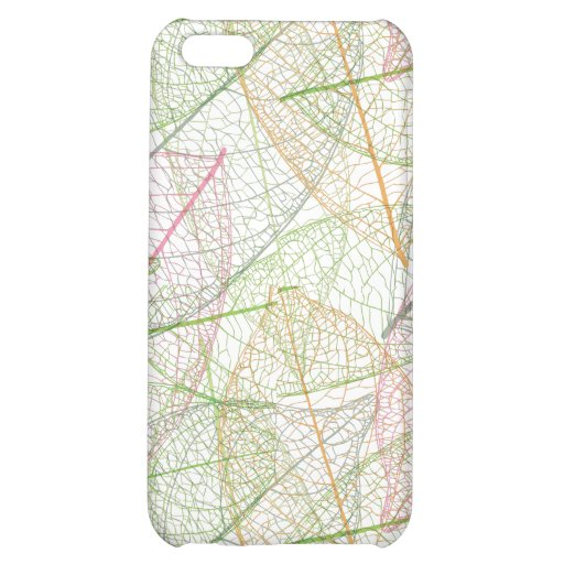 crazy leaves pattern for your iphone case iPhone 5C cases