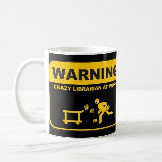 Crazy Librarian Mug