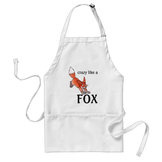 Crazy Like a Fox Apron