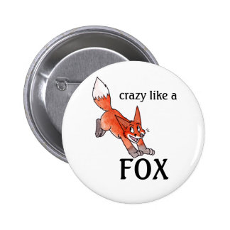 Crazy Like a Fox Button