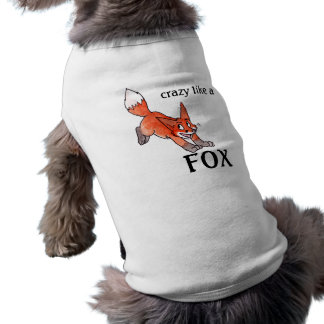 Crazy Like a Fox Pet T-shirt