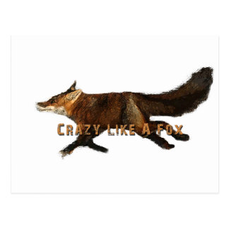 Crazy Like A Fox Products Postcard