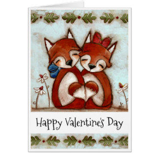 Crazy Like a Fox - Valentines Day Card
