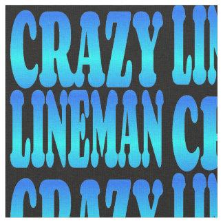 Crazy Lineman Fabric