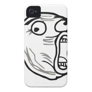 Crazy Lol Comic Meme Case-Mate iPhone 4 Cases
