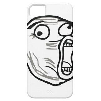 Crazy Lol Comic Meme iPhone 5 Case