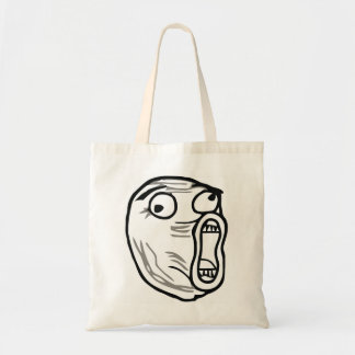 Crazy Lol Comic Meme Tote Bag