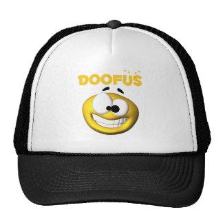 Crazy Looking Doofus Face Trucker Hat
