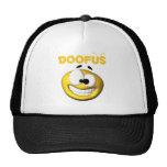 Crazy Looking Doofus Face Trucker Hats