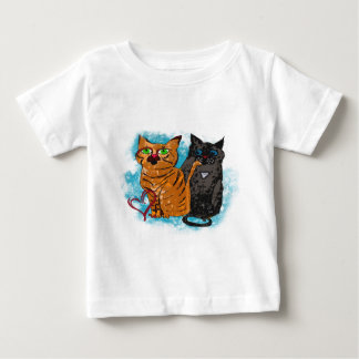 Crazy Love Cats Apparel Baby T-Shirt