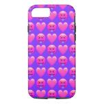 Crazy Love Emoji iPhone 7 Phone Case